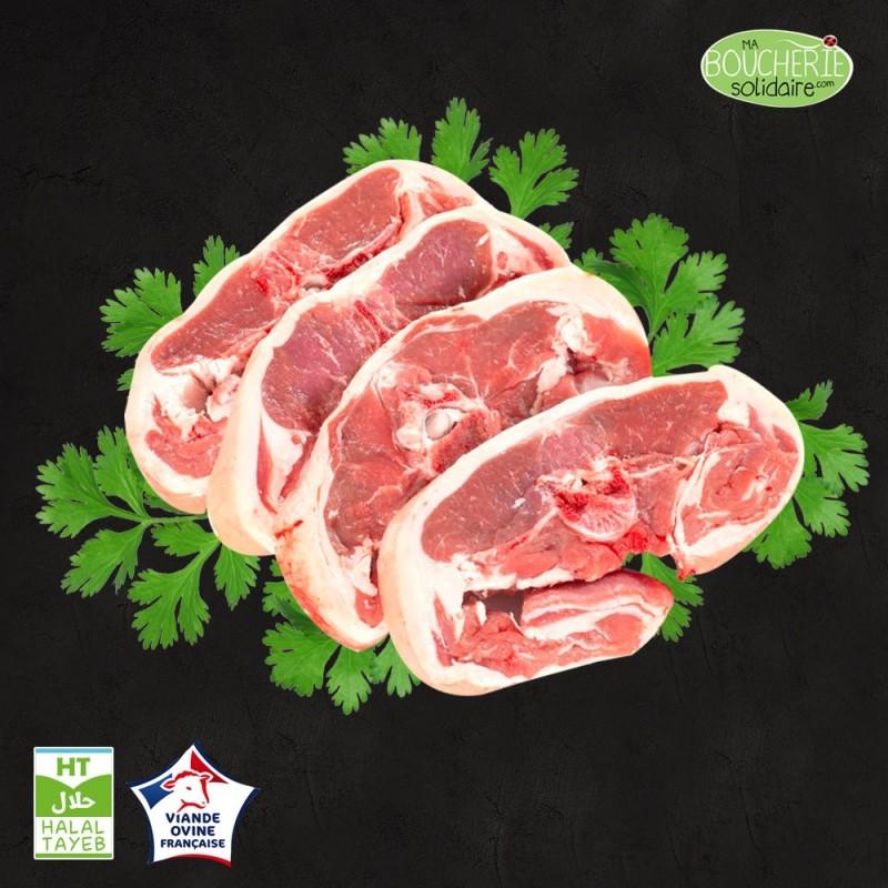 Côte filet double agneau halal issu d'élevage Naturel Ethique